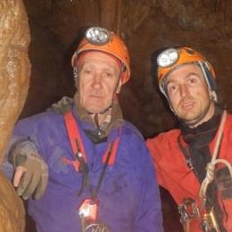 Scendere in grotta un vizio di famiglia  Padre e figlio sono diventati istruttori