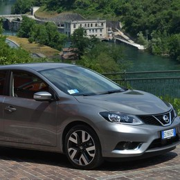 Nissan Pulsar più sportiva  in viaggio con Leonardo