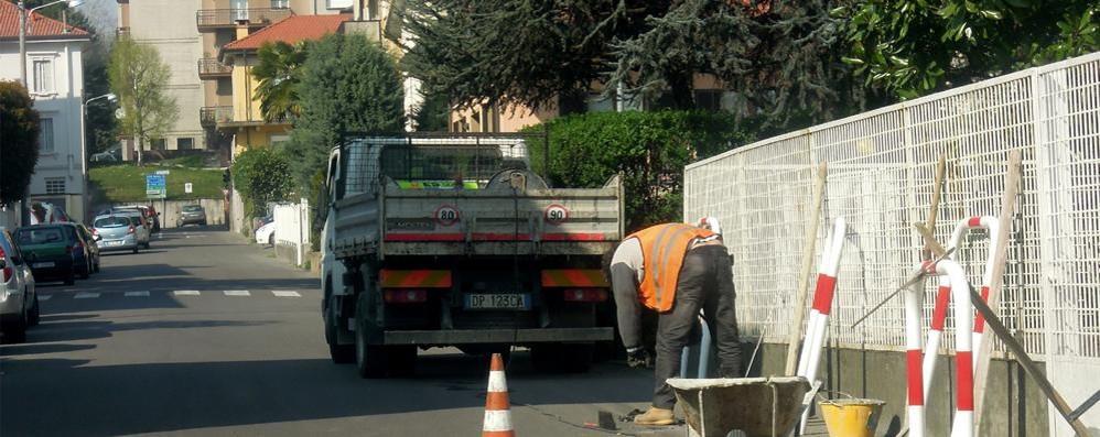 Piano del traffico a Cantù  Si parte da Galliano e via IV Novembre