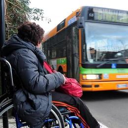 Disabile: «L'autista   mi ha cacciato dal bus»