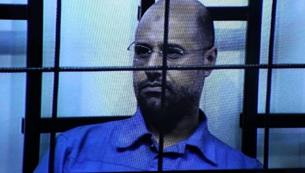 Figlio di Gheddafi condannato a morte