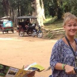 Da Dongo fino al Perù  «Il mio giro del mondo  in sella alla bicicletta»