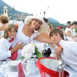 A Villa Olmo la super cena in bianco
