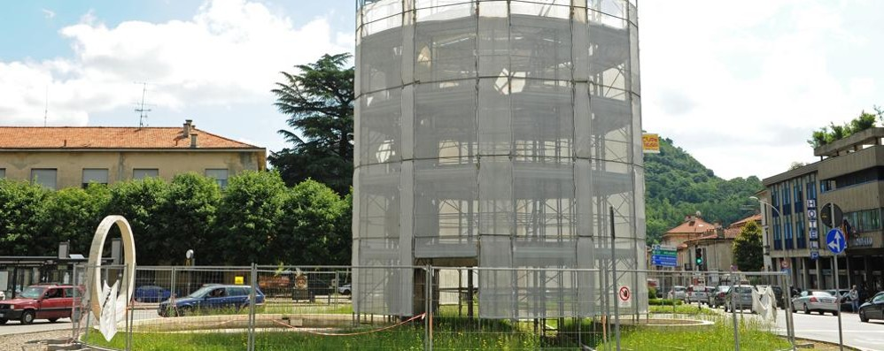 Fontana di Camerlata  Restauro terminato  Ma il futuro è incerto
