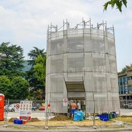 Riapre la fontana ma il futuro è nero  Potrebbe essere ricostruita