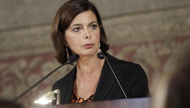 Boldrini,partecipazione ferma corruzione