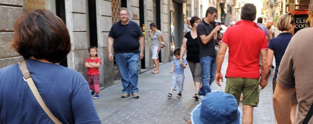 Morso da un cane in via Vittorio Emanuele