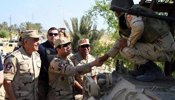 Sisi, in Sinai finita rivolta jihadisti