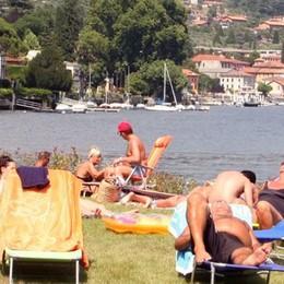 Aperta la spiaggia libera  tra Lenno e Mezzegra