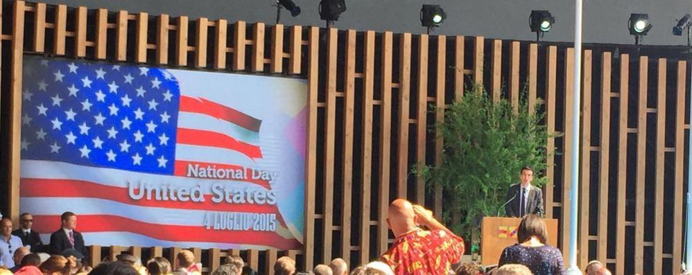 Expo,  Usa pazzi di Lake Como  «E grazie per gli orti verticali»