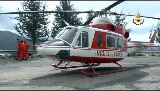 Nebbia ostacola ricerche elicottero