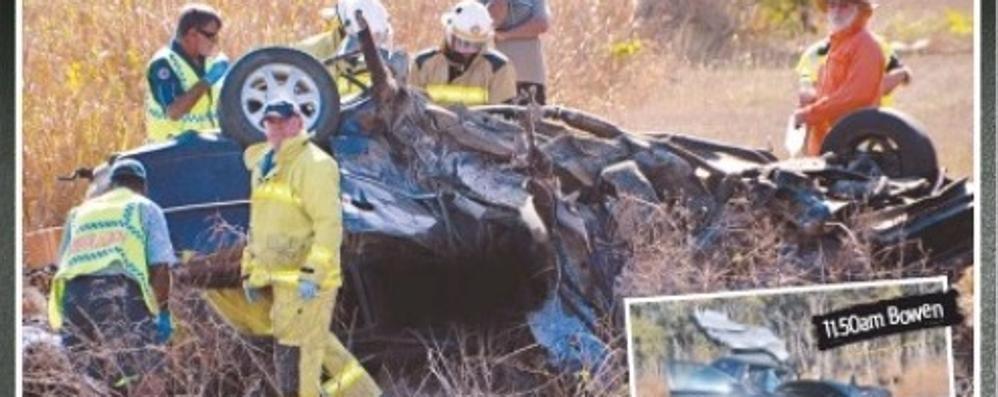 Incidente stradale in Australia Morto un ragazzo comasco