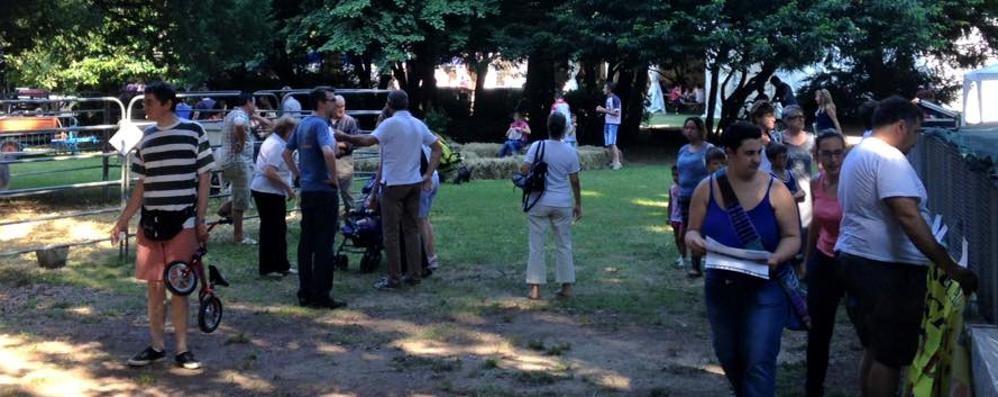 Olgiate, un percorso salute  Al parco Peduzzi come in Alto Adige