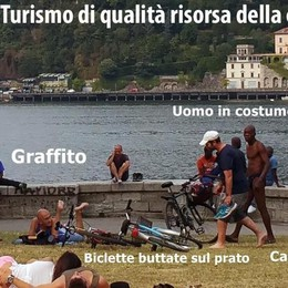 «C'è anche un turismo  che fa il male di Como»