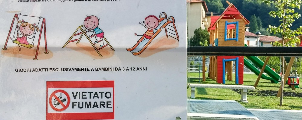 Vietato fumare al parco comunale  A Brunate multe fino a 500 euro