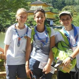 Raduno scout in Giappone  Anche tre ragazzi comaschi