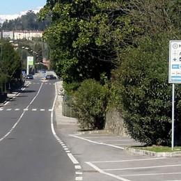 Incidente a Bellagio: motociclista ferito