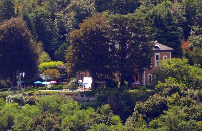 Como A Villa Centenari si gira il nuovo spot della Nespresso con George Clooney