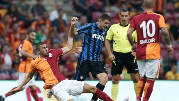 Galatasaray-Inter 1-0, decide Snejider