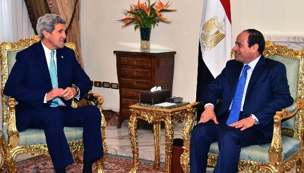 Kerry al Cairo riapre dialogo strategico