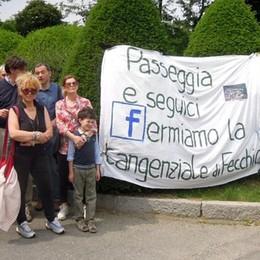"Tangenzialina Nord a Cantù  Nuova marcia per dire ""no"""