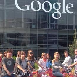 Da Olgiate a Google  Gli studenti nella Silicon Valley