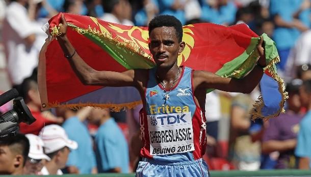 Eritreo Ghebreslassie vince maratona