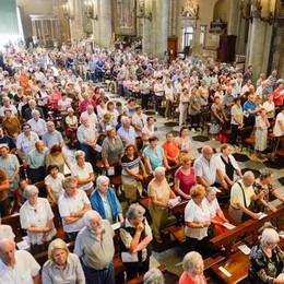 Como festeggia Sant'Abbondio Folla in Duomo per il pontificale