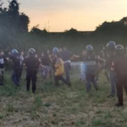 Salvini contestato a Lomazzo  Denunciati quindici antagonisti