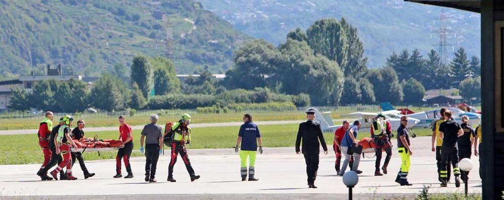 Ritrovato l'elicottero scomparso, tutti morti i membri dell'equipaggio