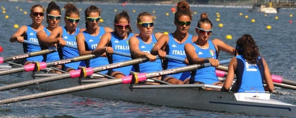 Canottaggio, mondiali juniores  D'argento l'ammiraglia con le comasche