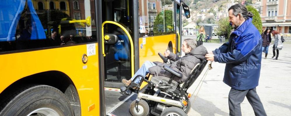 Autobus, torna l'orario invernale  Nuove corse per il trasporto disabili