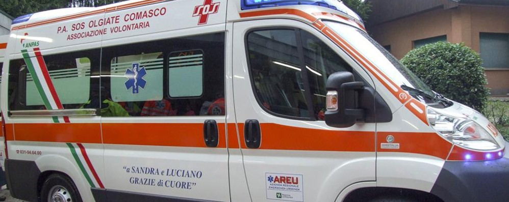 Olgiate e Colverde  Due feriti in incidenti