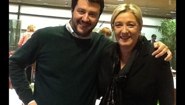 Salvini, io con Le Pen, Cav con Merkel
