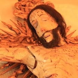 Torna l'antico Crocifisso di San Provino