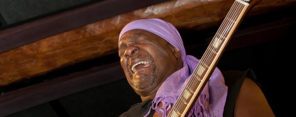 Grande blues a Como  con Lamar Chase