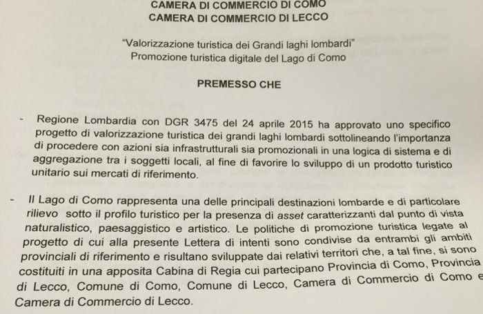 Protocollo turismo digitale