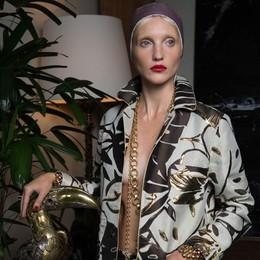 Settimana della moda  Made in Como la linea  di Francesca Ruffini