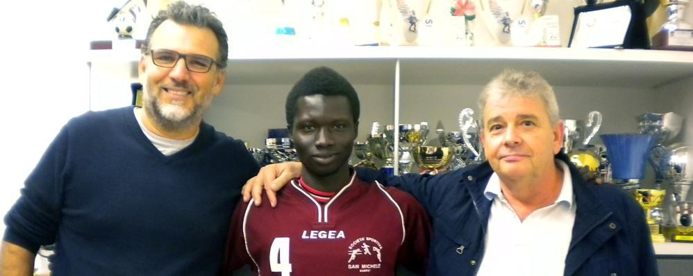 Prince, dal Gambia al San Michele  «Realizzo un sogno: tornare in campo»