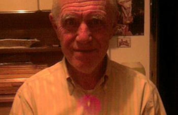 Enzo Testori l'anziano scomparso a Tavernerio