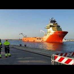 Giunta a Cagliari nave con 781 profughi