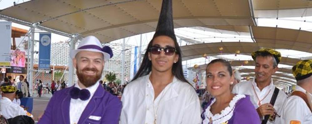 Kevin, un fenomeno a Expo  La sua cresta fa il record