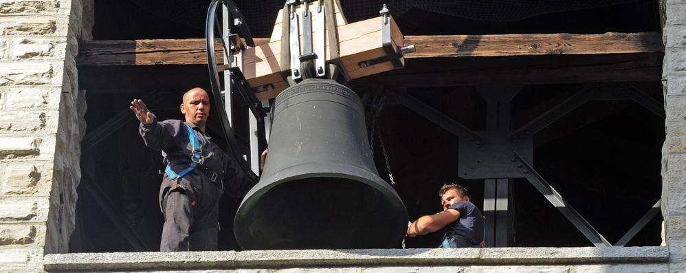 Le campane tornano sul Broletto, da sabato i primi rintocchi