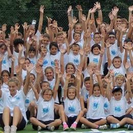 Educamp, sei settimane di sport  Un'esperienza unica per 150 bimbi