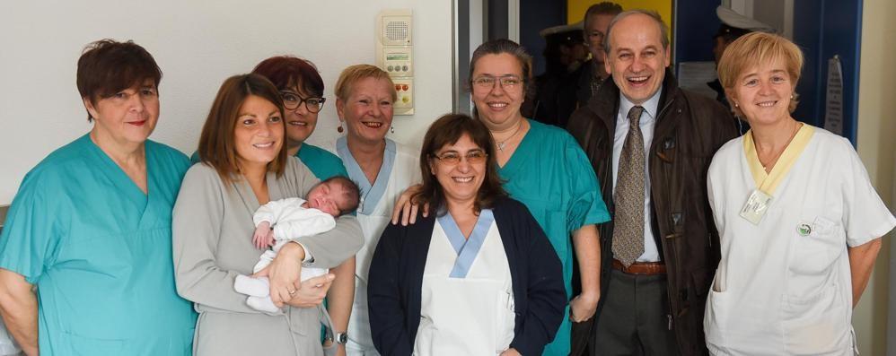 Como, il primo nato del 2016 è Giorgio