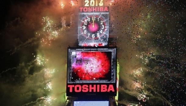 Un milione a Times Square a New York