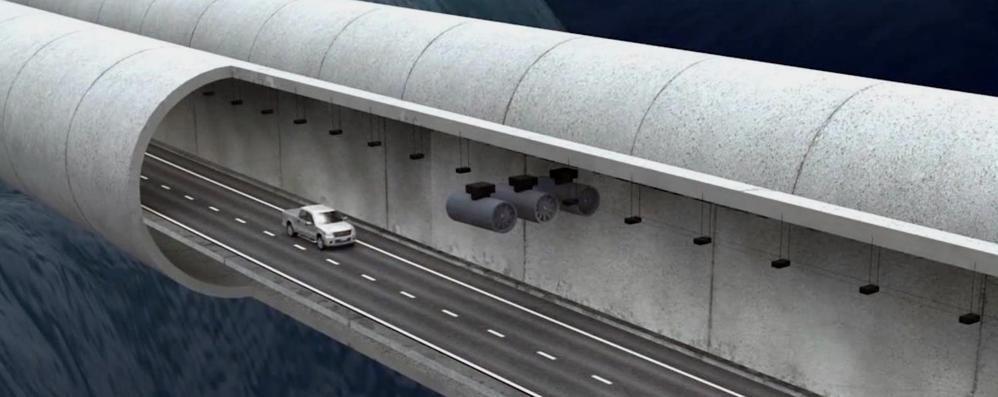 Da Como in Norvegia per costruire ponti Arianna oggi si racconta in tv