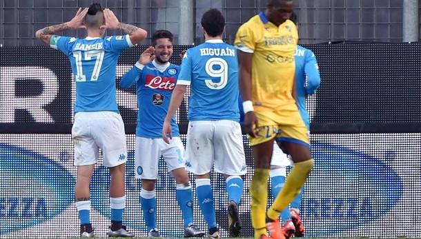Serie A: Napoli campione d'inverno