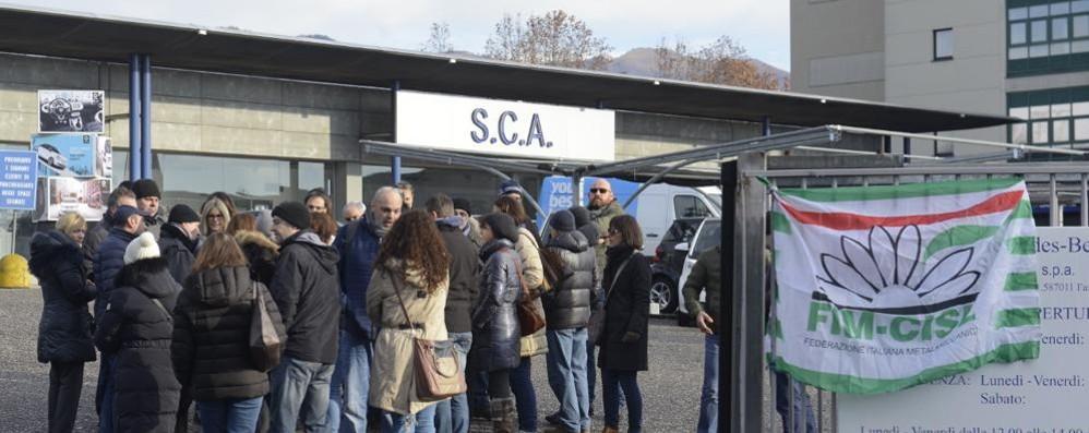 Sca, audizione in Regione  Ma lo sciopero continua