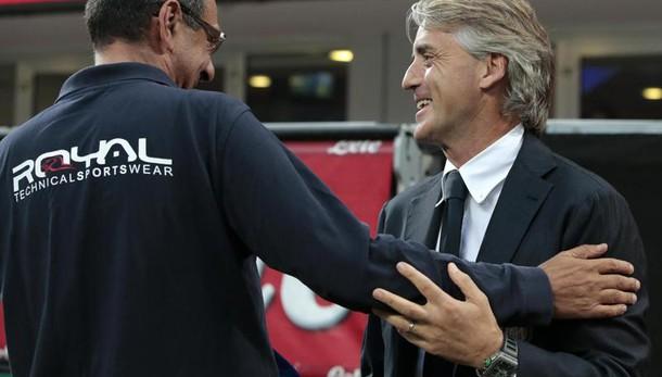 Mancini, accetto le scuse di Sarri